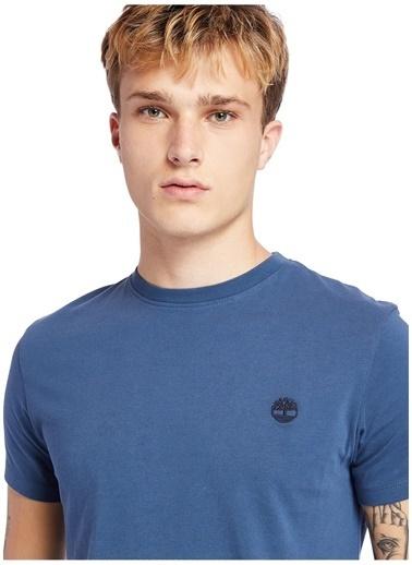 Timberland Timberland Lacivert Baskılı Regular FitErkek T-Shirt Lacivert